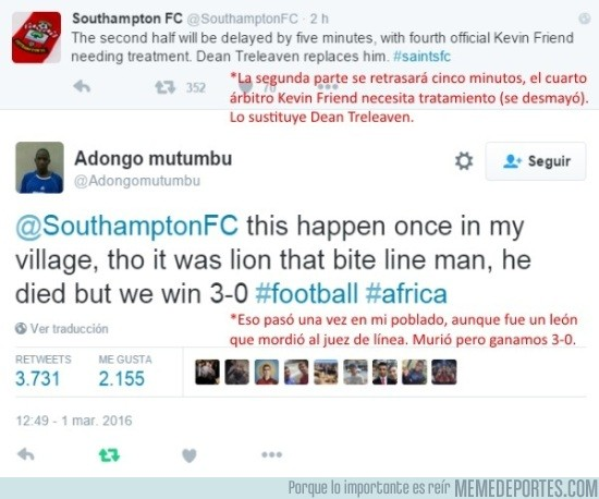 813833 - En África también tienen sus problemas con el fútbol...
