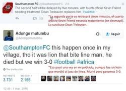 Enlace a En África también tienen sus problemas con el fútbol...