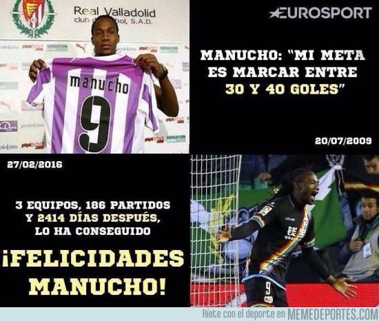 814714 - ¡Felicidades Manucho! Ya lo has conseguido, un poco tarde, por eso