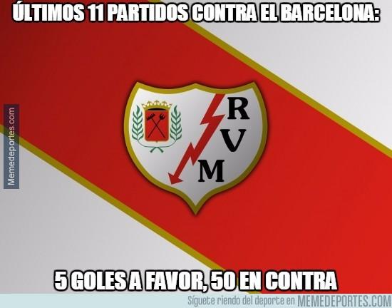 815175 - Al Rayo no se le da muy bien el Barça...