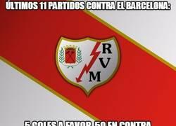 Enlace a Al Rayo no se le da muy bien el Barça...