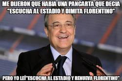 Enlace a Florentino sigue a lo suyo