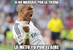 Enlace a Pepe a salvar el honor del Madrid