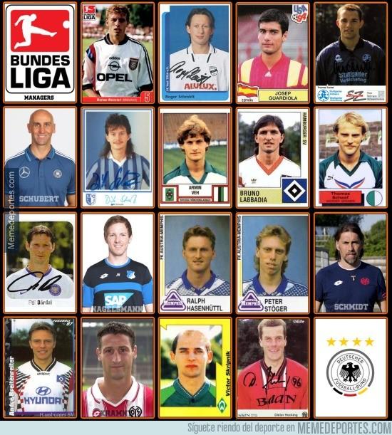 816285 - Los entrenadores de la Bundesliga cuando eran jugadores