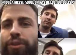 Enlace a Con cosas así se demuestra que Messi no está pendiente de records personales