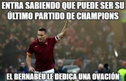 Enlace a El Bernabéu se despide a lo grande de Totti