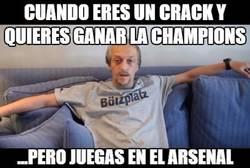 Enlace a Özil envejeció esperando su Champions
