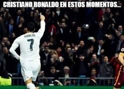 Enlace a Cristiano, una leyenda viva en la Champions