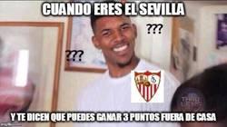 Enlace a El Sevilla y los 3 puntos lejos del Pizjuán