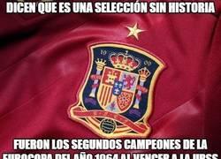 Enlace a España, selección con historia