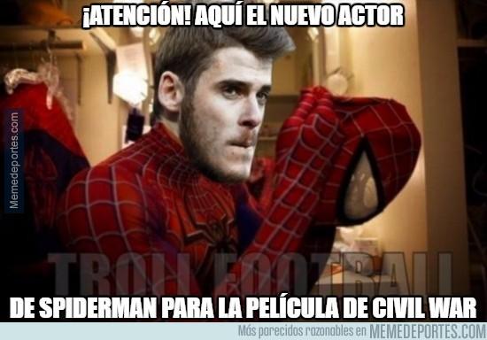 818752 - El actor de Spiderman para la nueva peli de Capitán América