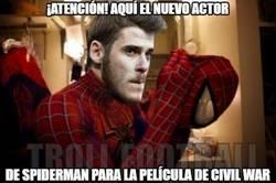 Enlace a El actor de Spiderman para la nueva peli de Capitán América
