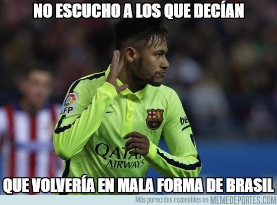 819315 - No le sientan mal las vacaciones a Neymar