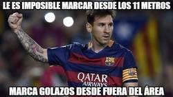 Enlace a Messi prefiere marcar goles bonitos