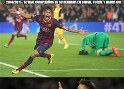 Enlace a El cumpleaños de la hermana de Neymar da suerte
