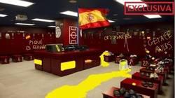 Enlace a POLÉMICA: Así ha quedado el vestuario del Getafe en el Camp Nou