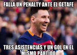 Enlace a Messi y su mala racha