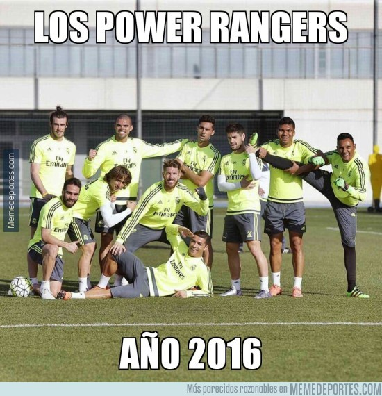 819838 - ¡Los Power rangers del 2016!