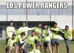 Enlace a ¡Los Power rangers del 2016!