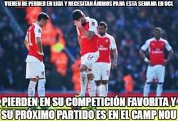 Enlace a La mala suerte del Arsenal...