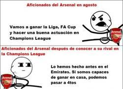Enlace a Los fans del Arsenal esta temporada