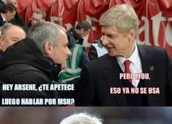 Enlace a Mourinho al menos se lo toma con humor