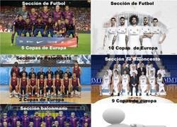 Enlace a Comparativas entre secciones de Barça y Madrid, ¿tú qué palmarés preferirías?