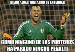 Enlace a Diego Alves no entendió nada