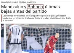Enlace a ¡Menuda sorpresa Robben!