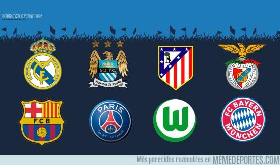 822126 - Se confirman los equipos que van a jugar los Cuartos de Final de la UEFA Champions League