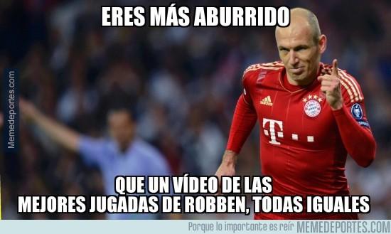 822209 - Más aburrido que un vídeo de las mejores jugadas de Robben