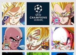 Enlace a Los 8 equipos que quedan en el torneo de la Champions League, según Dragon Ball