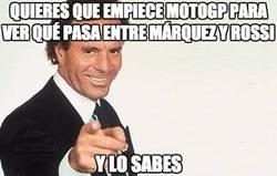 Enlace a Queremos ya el morbo entre Márquez y Rossi