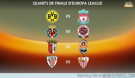 822940 - Los enfrentamientos para los cuartos de final de la Europa League, ¡Klopp vuelve a casa!