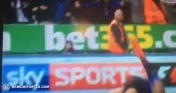 Enlace a GIF: La increíble celebración de Mitrovic con un fan del Newcastle