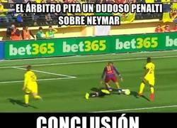 Enlace a La realidad del Barça con el árbitro