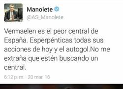 Enlace a Manolete, vete a casa, estás borracho