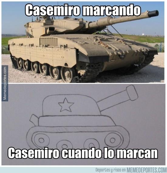 825021 - La realidad de Casemiro
