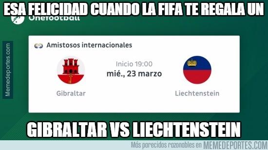 825289 - Gibraltar vs Liechtenstein, partidazo