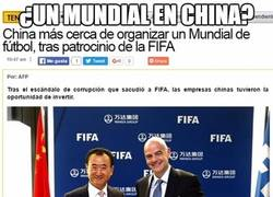 Enlace a ¿Un mundial en China?