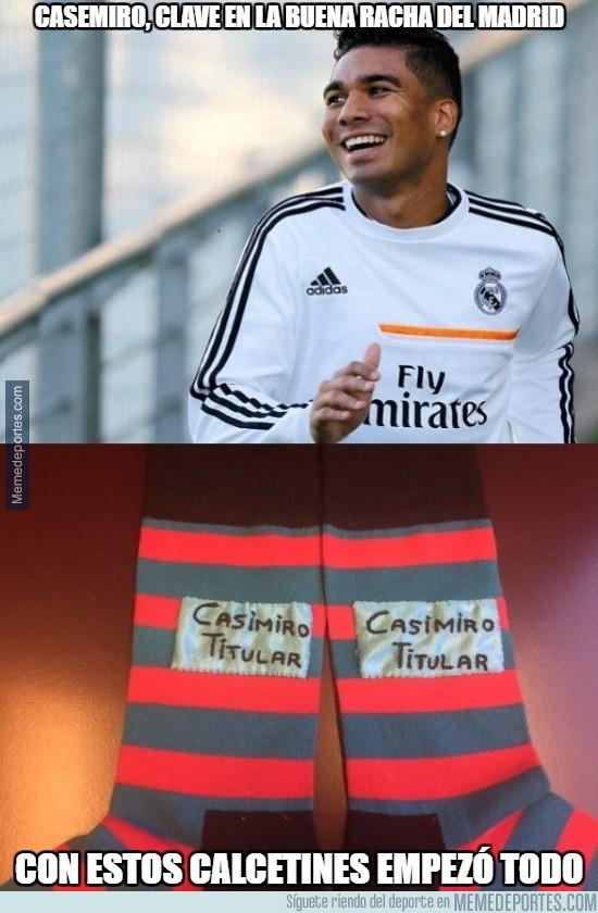 825746 - Casemiro jugador clave del nuevo Madrid