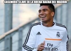 Enlace a Casemiro jugador clave del nuevo Madrid
