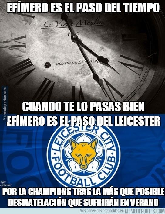 825772 - Pobre Leicester, tiene las horas contadas en Champions