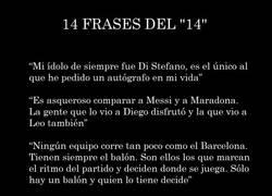 Enlace a 14 frases del genio Johan Cruyff (DEP)