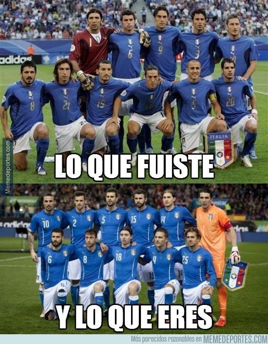 826198 - El deterioro de la Selección italiana