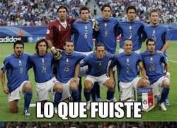 Enlace a El deterioro de la Selección italiana