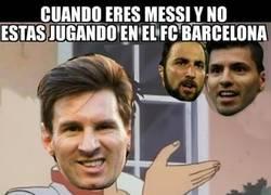 Enlace a Cuando eres Messi y no estás en el FC Barcelona