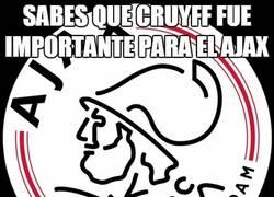 Enlace a La figura de Cruyff para el Ajax