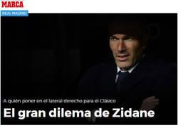 Enlace a Zidane no lo tiene claro, el resto sí