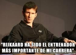 Enlace a A Guardiola no deben haberle sentado bien las palabras de Messi